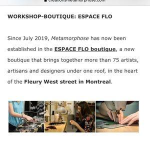 Metamorphose Skirts - Metamophose Creations- Striped Mini Skirt-Med